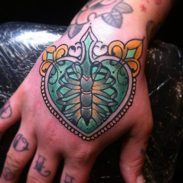 ribs cage tattoo