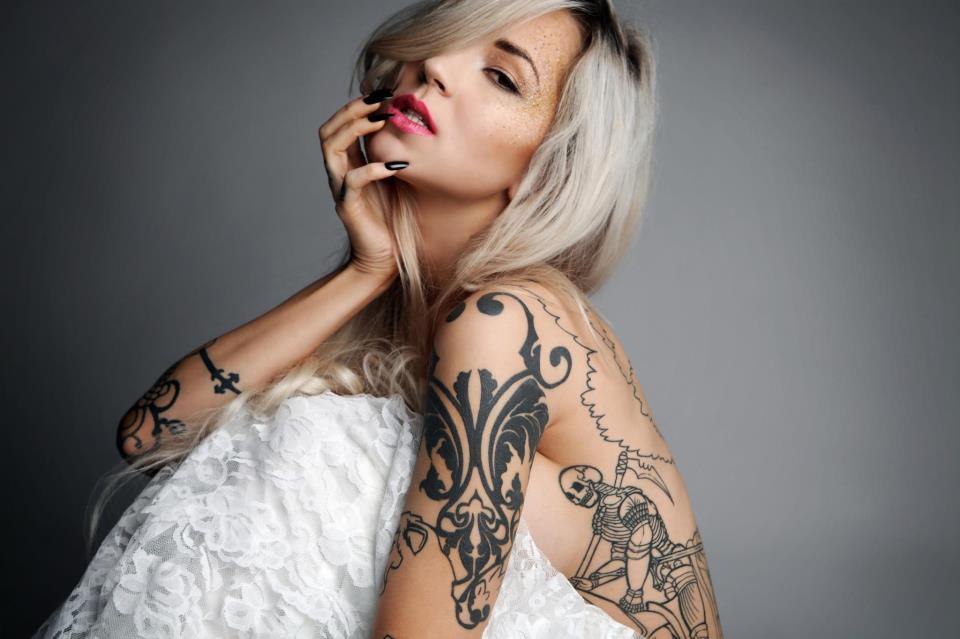 skeleton tattoo