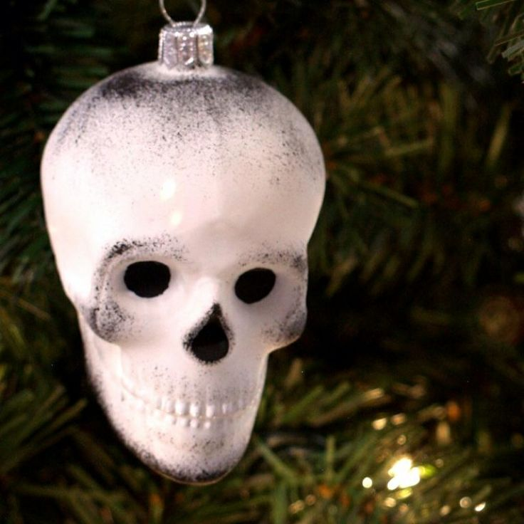 Skull Christmas Decorations