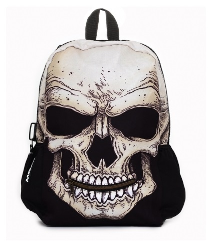 Mojo Mr. Peterson Skull Backpack