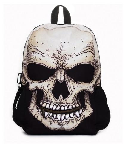 Mojo Mr. Peterson Skull Backpack