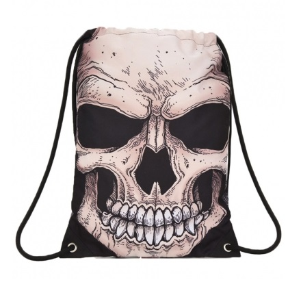 Mojo Mr. Peterson Skull Sling Bag