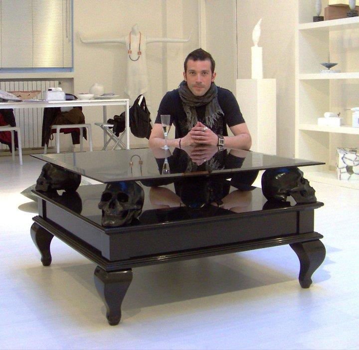Black Skull Table 1