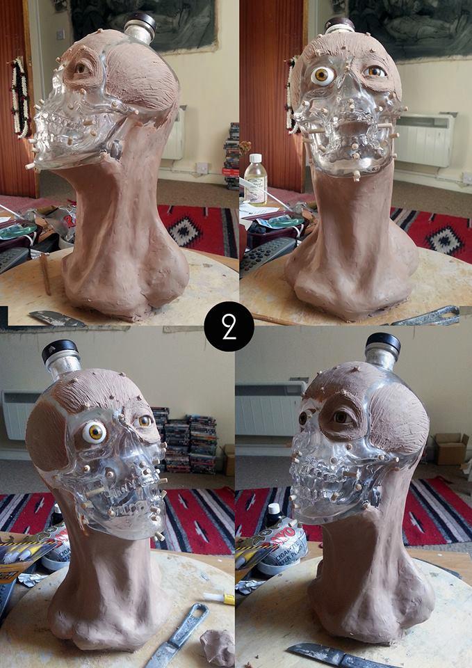 Forensic reconstruction of a Crystal Head Vodka skull (2)