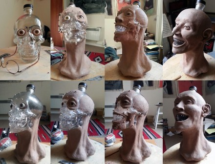 Forensic reconstruction of a Crystal Head Vodka skull (3)