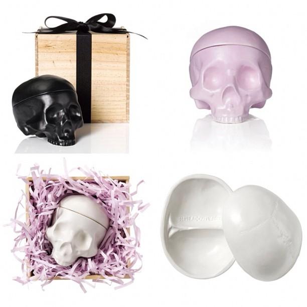 Meadowlark Skull Jewellery Boxes