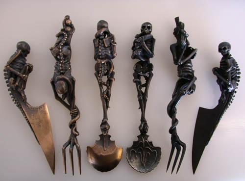Skeleton Cutlery