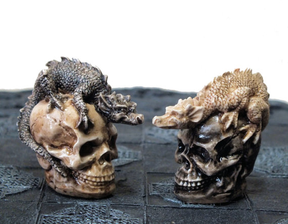 Skull Chess Set (3)