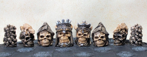 Skull Chess Sets (2)
