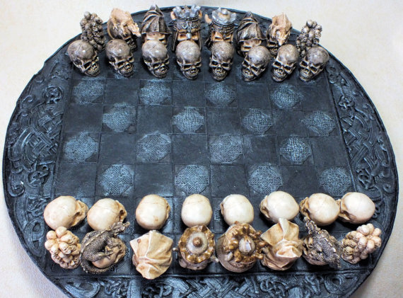 Skull Chess Sets (3)
