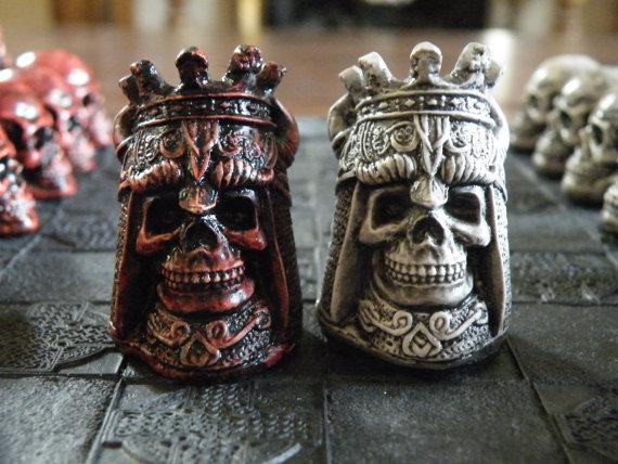 Skull Chess Sets