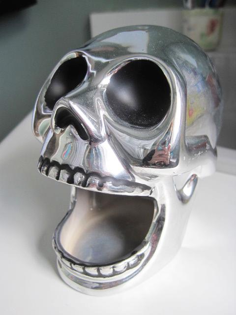 Skull sponge holder 1
