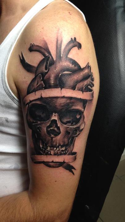 Skull tattoos by Razvan Popescu (3)