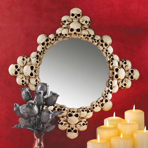 Skulls Mirror