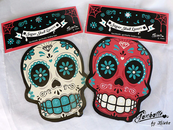 calavera magnets