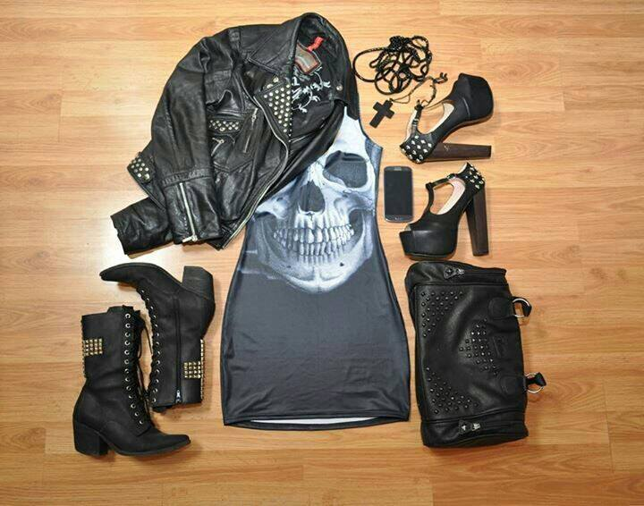 skull outfit ideas (2)