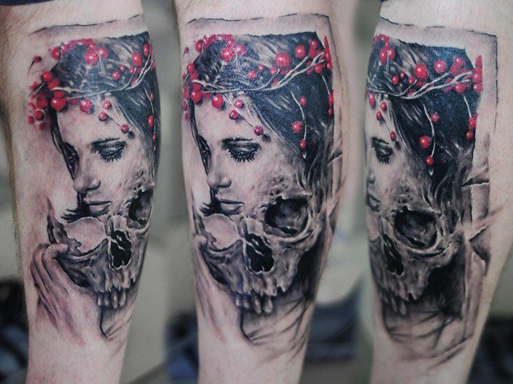 skull tattoos by Timur Lysenko (2)