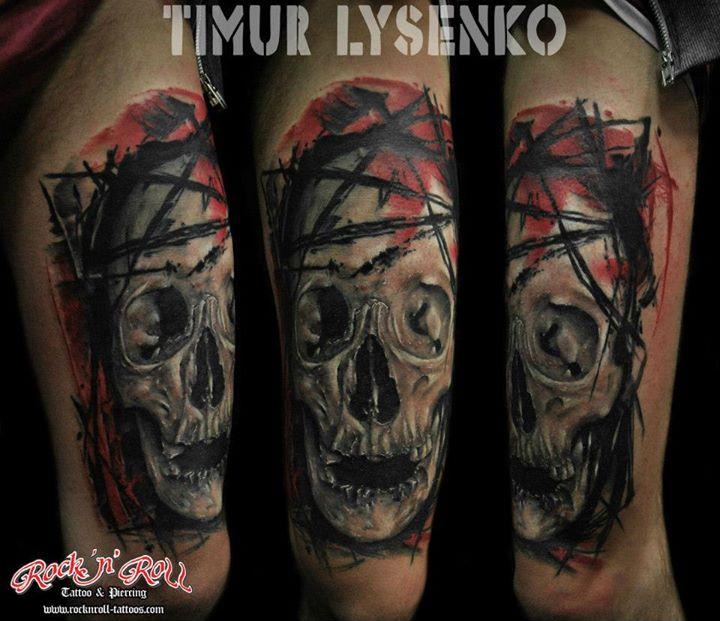 tattoo by Timur Lysenko