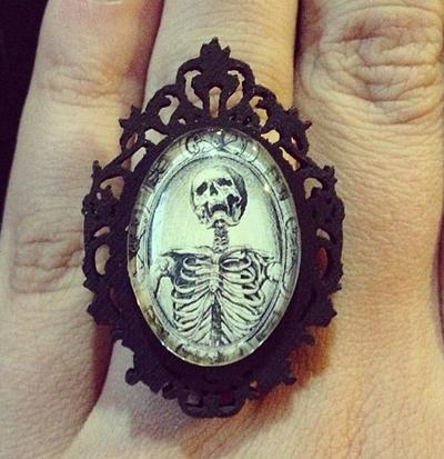 Asunder skull jewelry