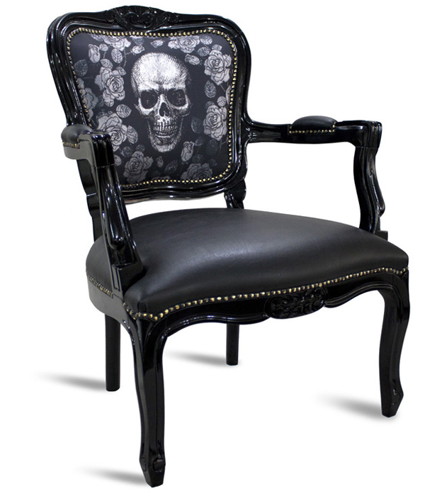 Skull chairs from RValentim