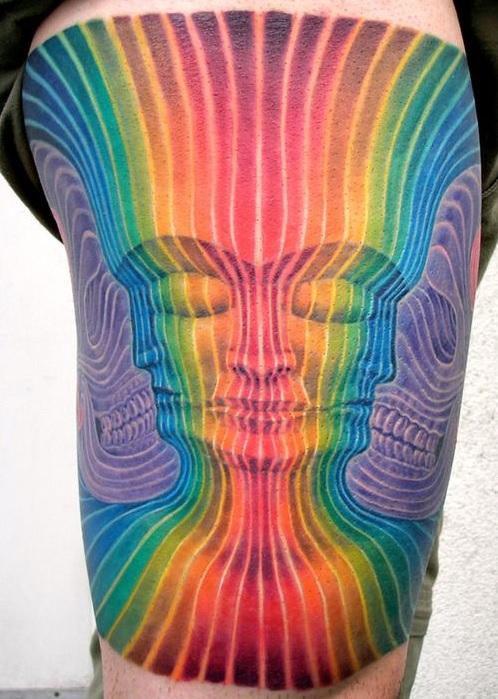 Tattoos inspired by Alex Grey (2)