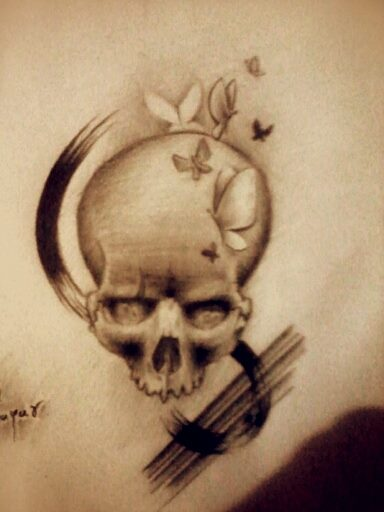 Skull illustration (8)