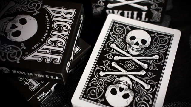 skull Card Back