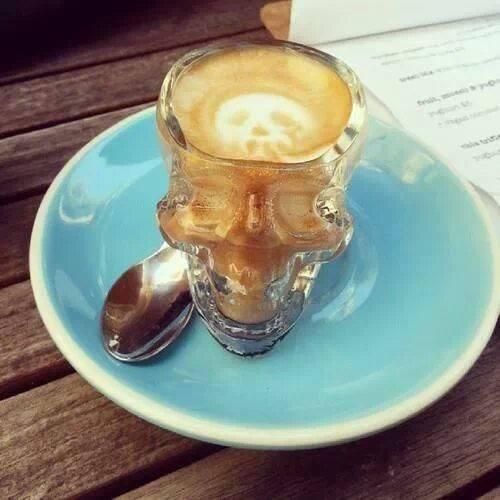 skull coffee 1