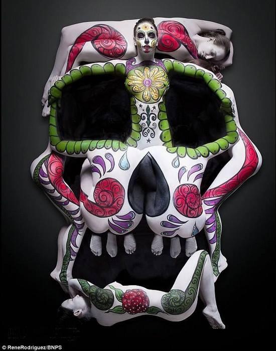 Human Sugar Skull