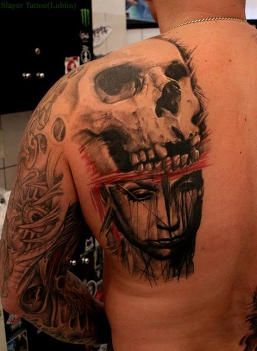 Skull tattoos by Daniel Melaniuk (2)