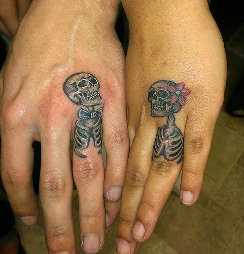 media source - Tattoo Wedding Rings