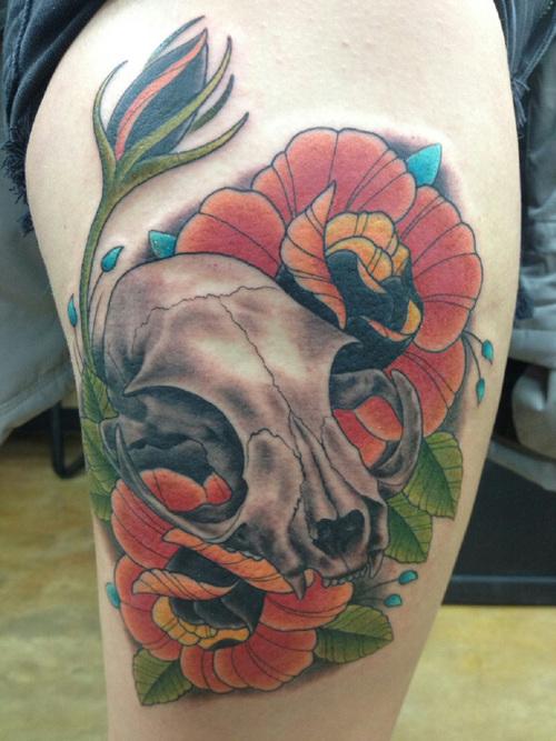 cat tattoo (2)