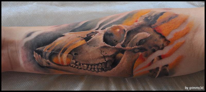 cow skull (2)