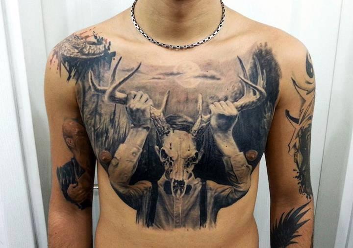 deer skull (2)