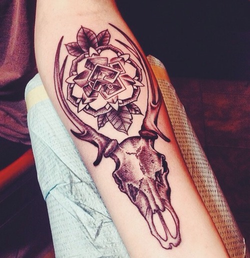 deer tattoo (4)