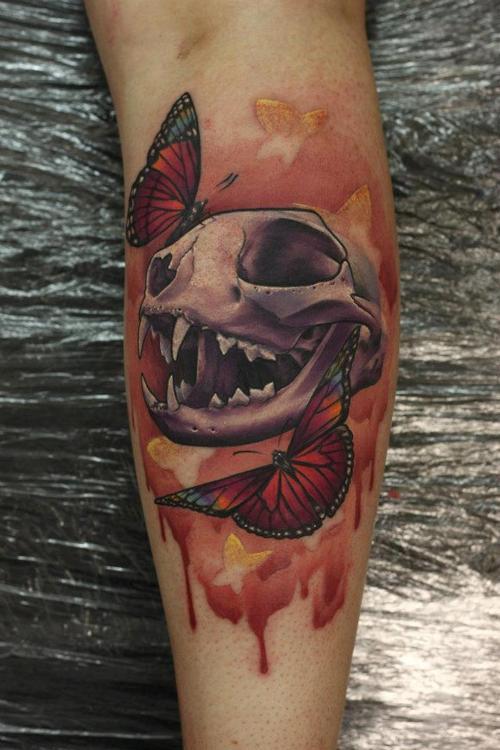 skull tattoo (2)