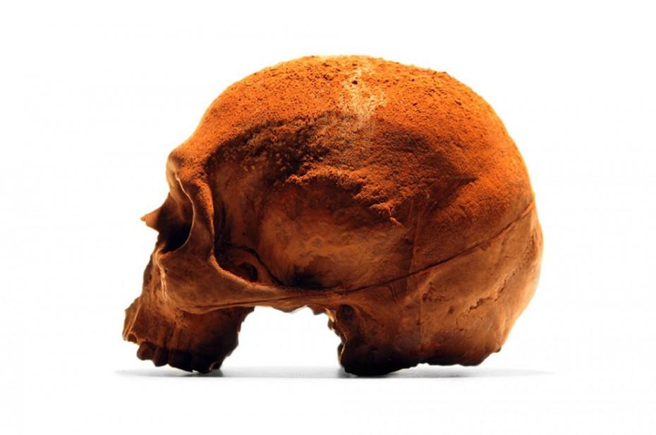 Chocolate Human Skull (2)