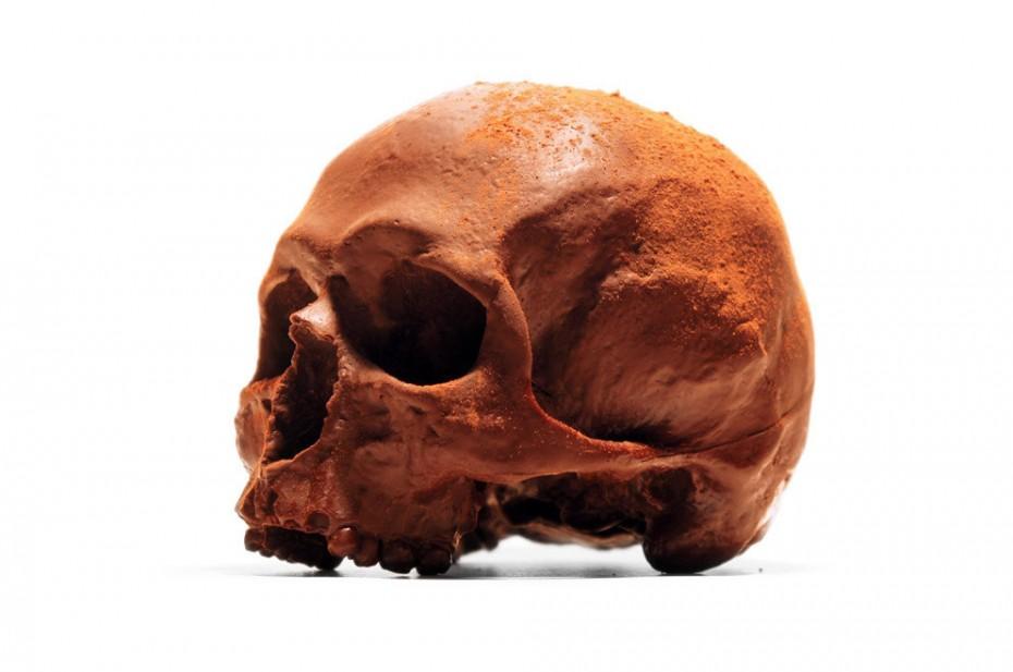 Chocolate Human Skulls (2)