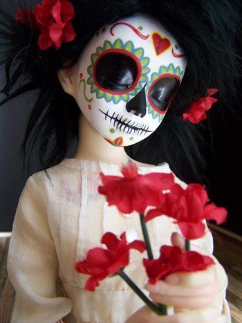 Day of the Dead Doll (3)