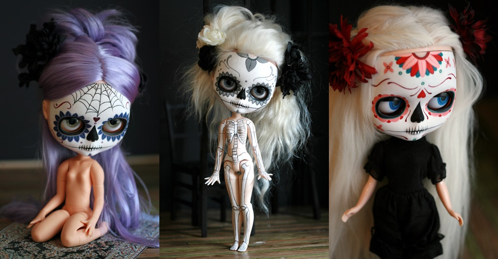 Day of the Dead Dolls by Melancholy Kitties (3)