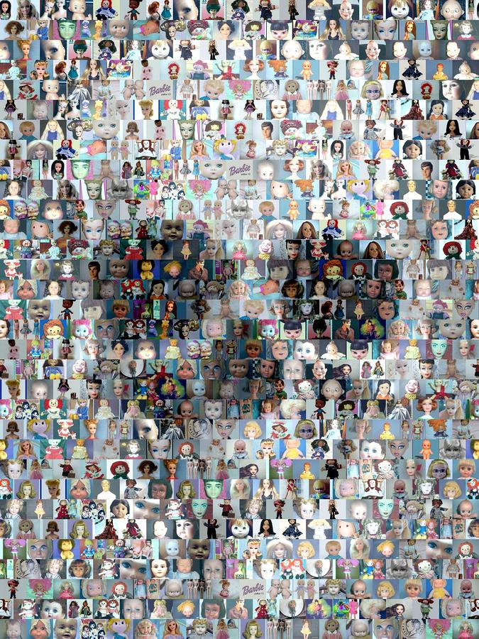 Skull Mosaic by Paul Van Scott (2)