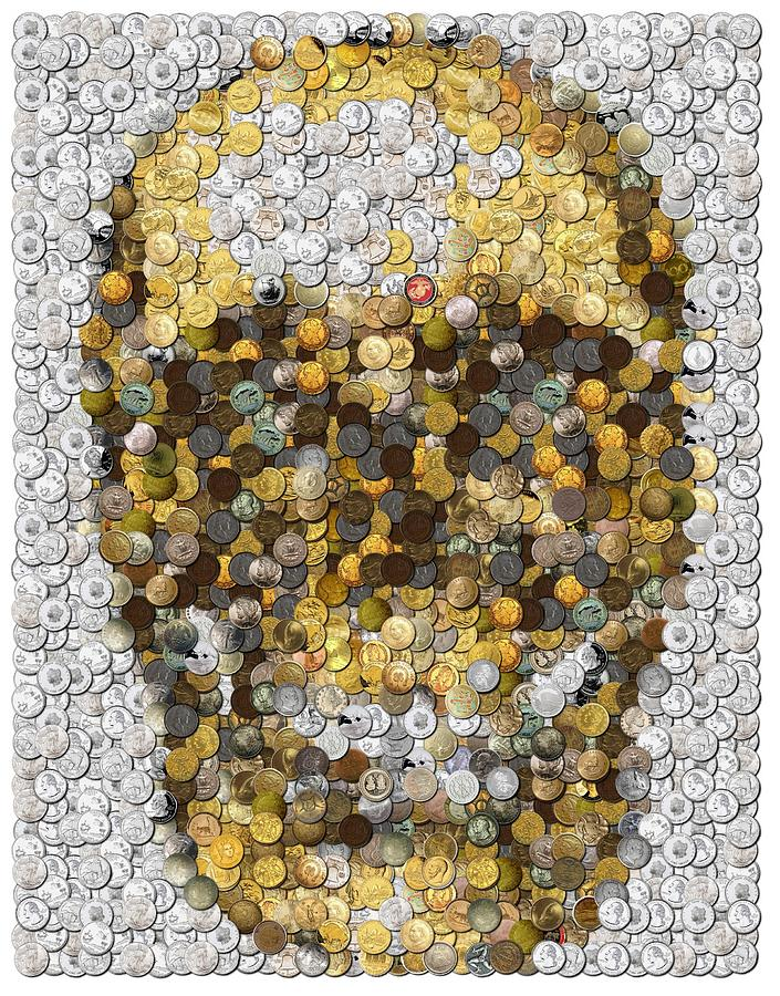 Skull Mosaics by Paul Van Scott