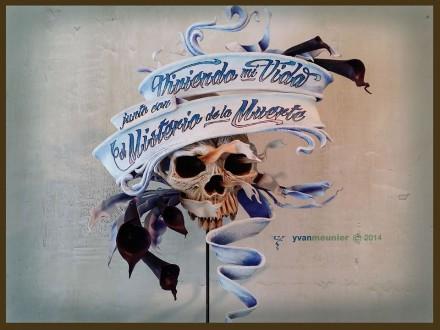 Skull Art by Yvan Meunier