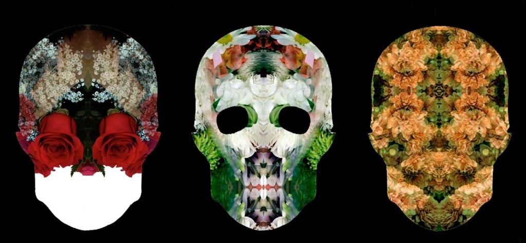 Skull Flowers by Mondo Curio (2)