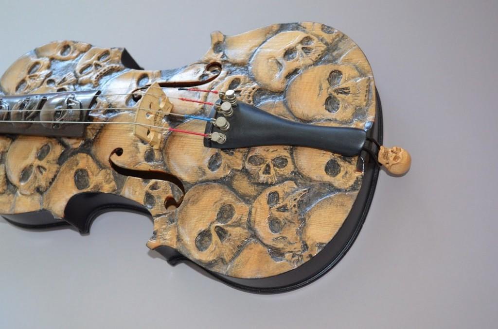Skull Violin (2)