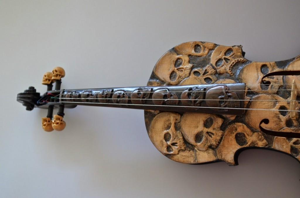 Skull Violin (3)