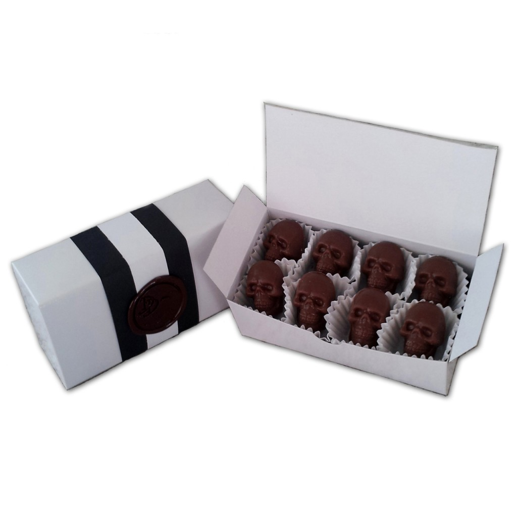 Chocolate Skulls (2)