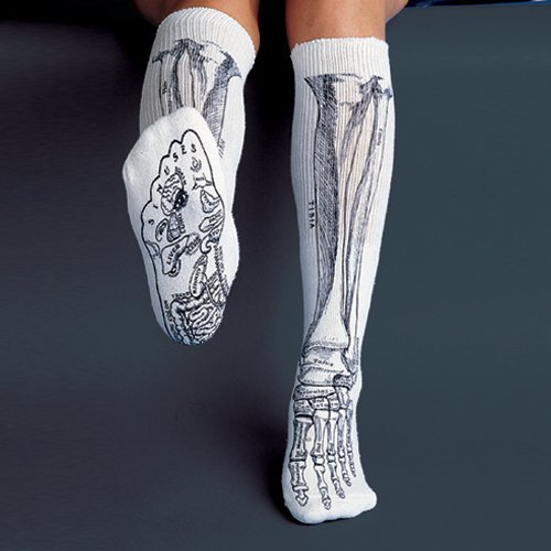 Skeleton Socks (3)