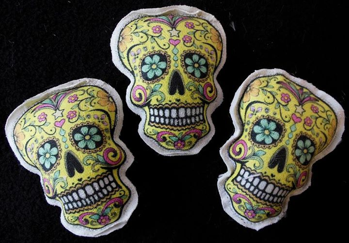Skelly Cocoons and Catnip Toys by René Laigo (2)
