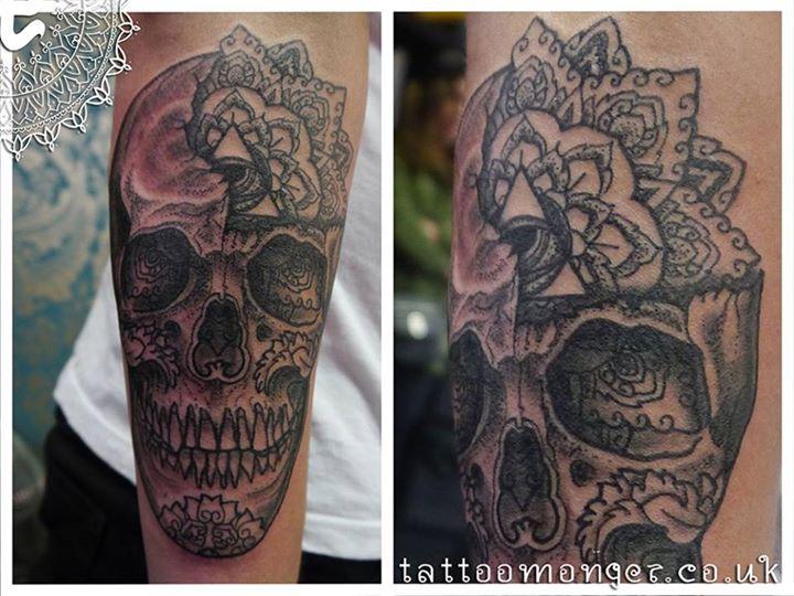 Skull Tattoo by David Barclay